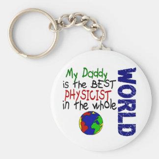 Best Physicist In World 2 (Daddy) Key Chains