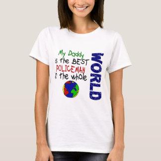 Best Policeman In World 2 (Daddy) T-Shirt