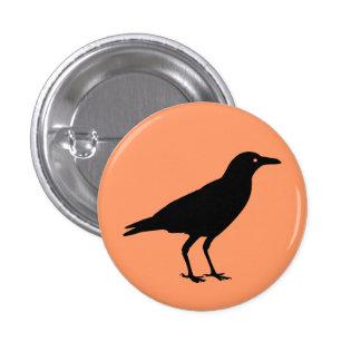Best Price Black Crow Halloween 3 Cm Round Badge