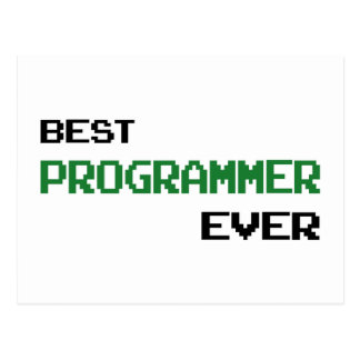 Best Programmer Ever Postcard