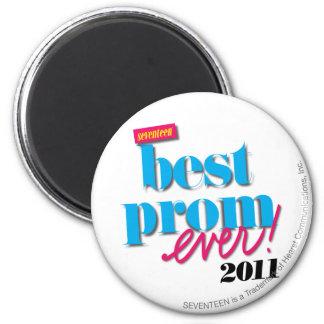 Best Prom Ever - Aqua 6 Cm Round Magnet