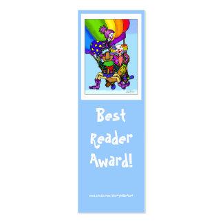Best Reader Award ! Pack Of Skinny Business Cards