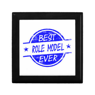Best Role Model Ever Blue Trinket Boxes