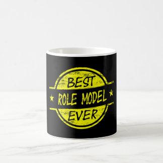 Best Role Model Ever Yellow Coffee Mug
