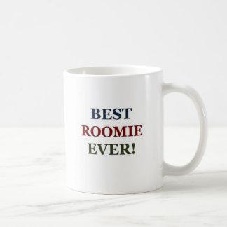 Best roomie ever basic white mug