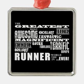 Best Runners : Greatest Runner Christmas Ornament