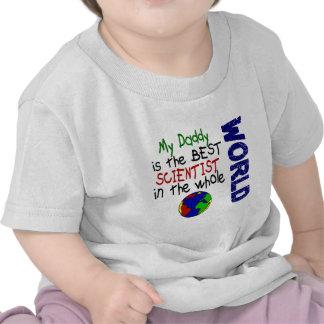Best Scientist In World 2 Daddy Tshirts