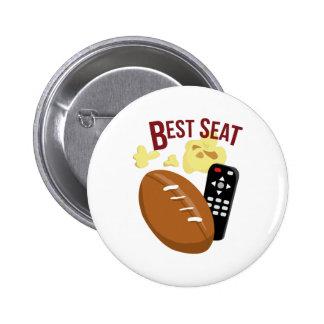 Best Seat 6 Cm Round Badge
