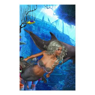 Best Seller Merrow Mermaid Stationery