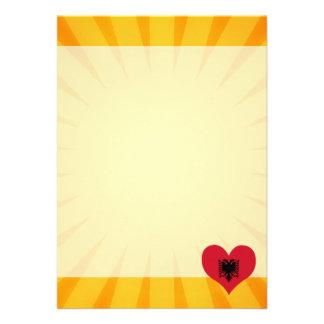 Best Selling Cute Albania 13 Cm X 18 Cm Invitation Card