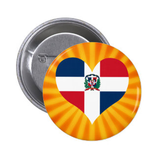 Best Selling Cute Dominican Republic 6 Cm Round Badge