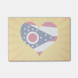 Best Selling Cute Ohio Sticky Notes