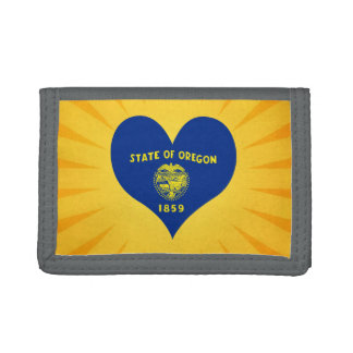 Best Selling Cute Oregon Trifold Wallets