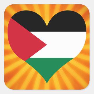 Best Selling Cute Palestine Square Sticker