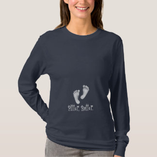 Best-selling Maternity T-Shirt - Pitter, Patter.