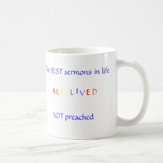 Best Sermon Basic White Mug