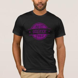 Best Sidekick Ever Purple T-Shirt