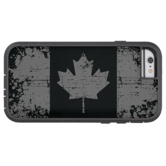 Best Silver Canada Grunge Flag Tough Xtreme iPhone 6 Case