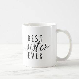 Best Sister Ever coffee mug