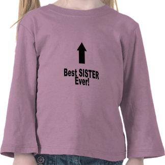 Best Sister Ever Tee Shirt
