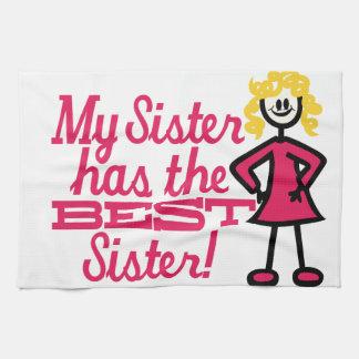 Best Sister Tea Towel