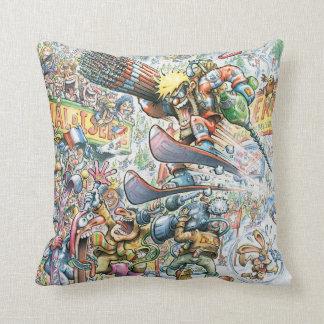 Best ski cartoon cushion ever.