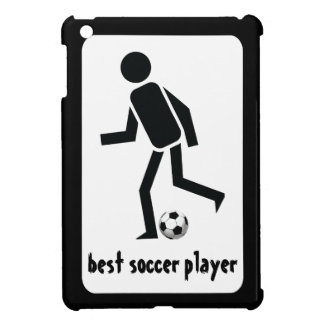 Best soccer player and ball custom gift iPad mini cover