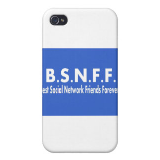 Best Social Network Friends Forever (BSNFF) iPhone 4/4S Cases