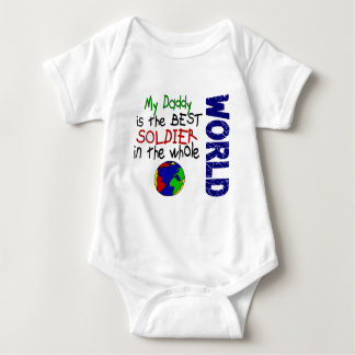 Best Soldier In World 2 (Daddy) Baby Bodysuit