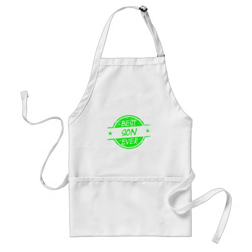 Best Son Ever Green Apron