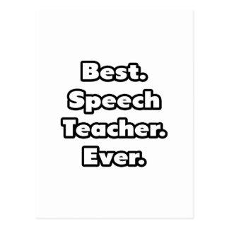 Best. Speech Teacher. Ever. Postcard