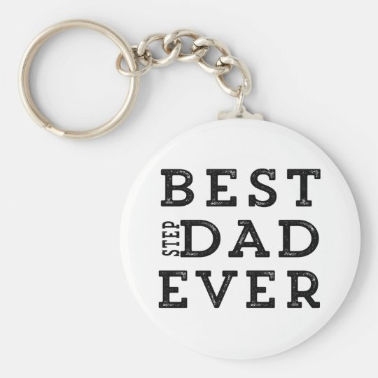 Best Step Dad Ever Key Ring