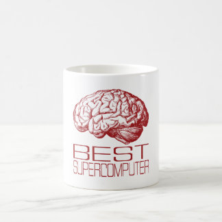 Best Supercomputer Basic White Mug