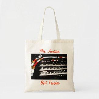 Best Teacher Canvas Bag, Appreciation, Thank You Budget Tote Bag