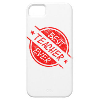 Best Teacher Ever Red iPhone 5/5S Cases