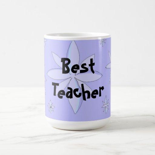 Best teacher snowflake design coffee mug zazzle for Best coffee cup design