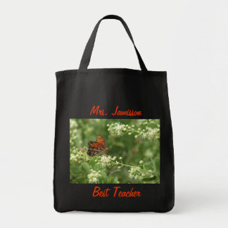 Best Teacher Tote Bag, Appreciation, Thank You Grocery Tote Bag