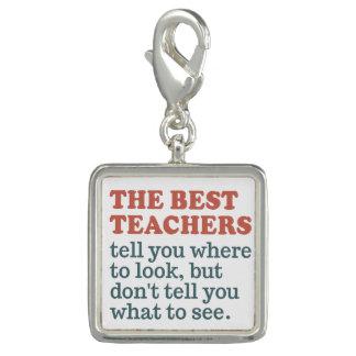 BEST TEACHERS charm / bracelet
