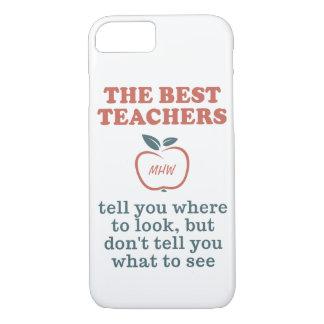 BEST TEACHERS custom monogram phone cases