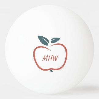 BEST TEACHERS custom monogram ping pong balls