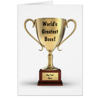 Best Thank You Boss Cards