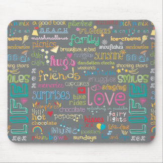 Best Things in Life Mousemats
