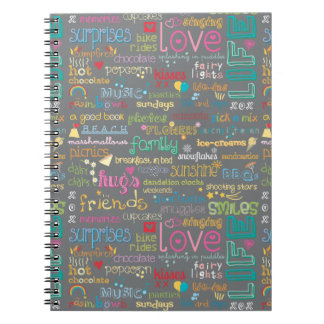 Best Things in Life Note Books