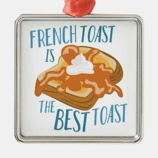 Best Toast Christmas Ornament