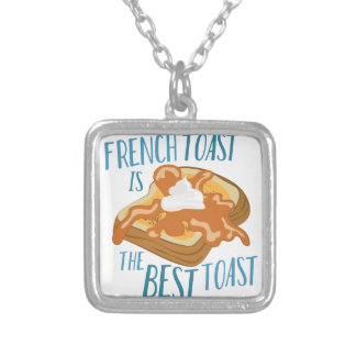 Best Toast Silver Plated Necklace