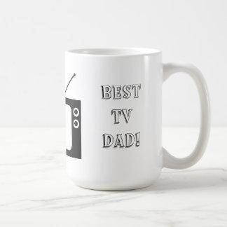Best TV Dad! Basic White Mug