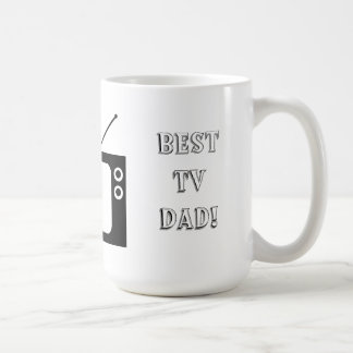 Best TV Dad! Basic White Mug