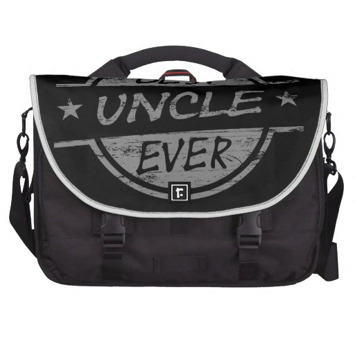 Best Uncle Ever Gray Bags For Laptop