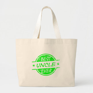 Best Uncle Ever Green Bags