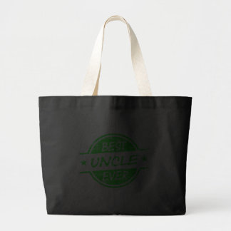 Best Uncle Ever Green Tote Bags